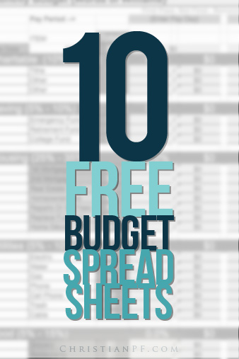free-budgeting-spreadsheets